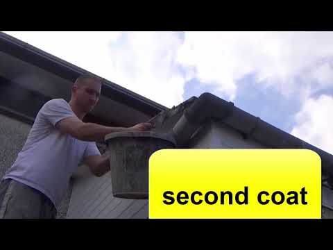 How to cement roof tiles pointing