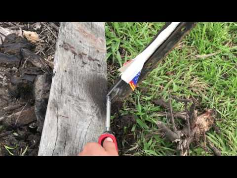 Homemade rocket with only 11 sparklers