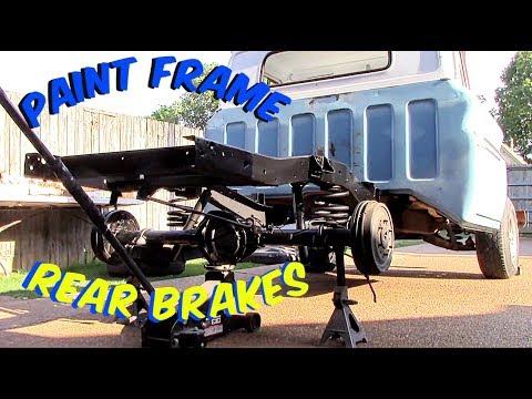 Cleaned frame/Installed rear brakes/Engine running