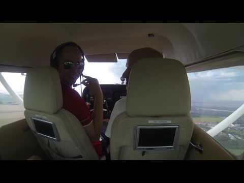 Cessna 172 Onboard