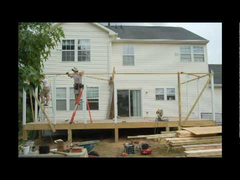 How to build a screen porch - Howard County, Maryland
