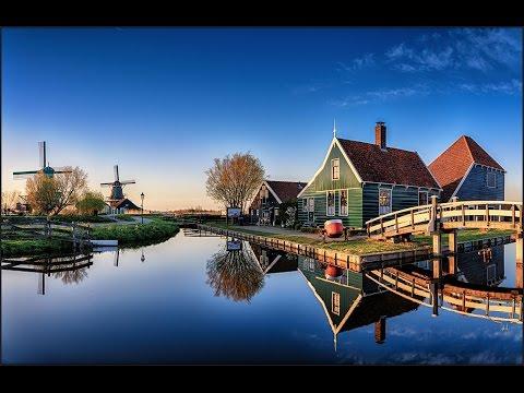 Zaanse Schans, Amsterdam - Traditional Dutch Village & Windmills!