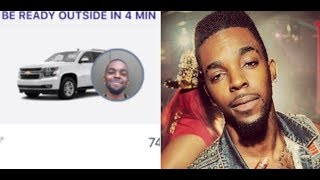 Roscoe Dash Responds to Rumors that he is now a Lyft Driver.