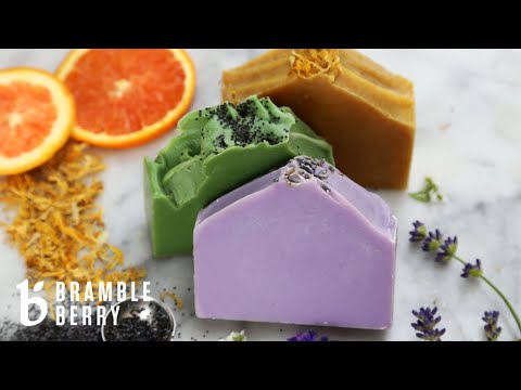 How to Make Essential Oil Soap - Beginner Tutorial