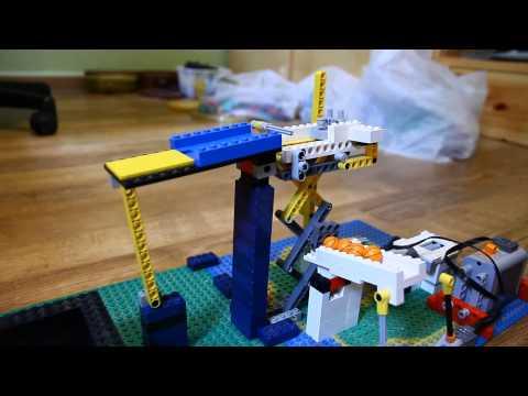 Lego GBC Module: Scissors Lift