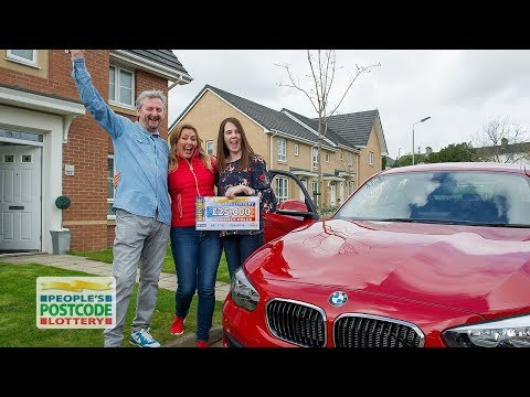 BMW and £25,000 Winners - G81 2DN in Clydebank on 01/05/2018 - People's Postcode Lottery