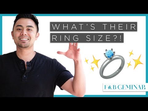 8 Tips On How to Find Out His/Her Ring Size