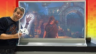 Gaming on the CLEAR TV Prototype!