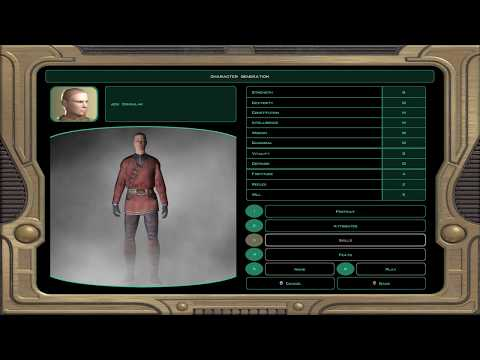 Knights of the Old Republic 2 - PC - Part 01 - Character Creation (Blind, Jedi Consular Build)