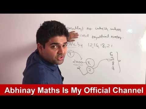 LCM Part - 3 By Abhinay Sharma (Abhinay Maths) 😲 SSC CGL Mains 2017 😲