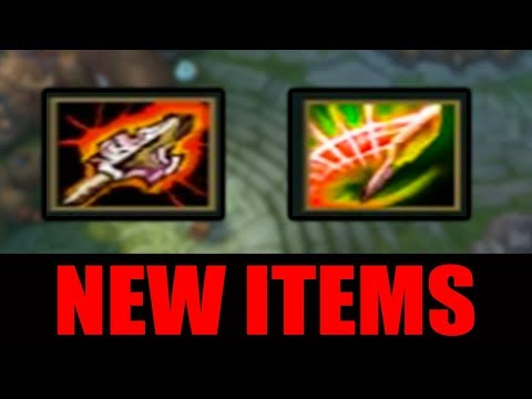 NEW LEAGUE ITEMS - Atma's Reckoning and Spear of Shojin | PBE Patch 8.11
