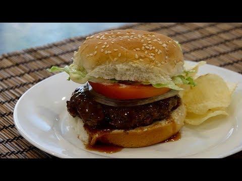 Teriyaki Burger Recipe - Japanese Cooking 101