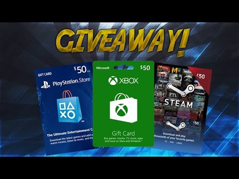 WIN YOURSELF A $50 XBOX, PSN, OR STEAM GIFT CARD! (1K GIVEAWAY!)