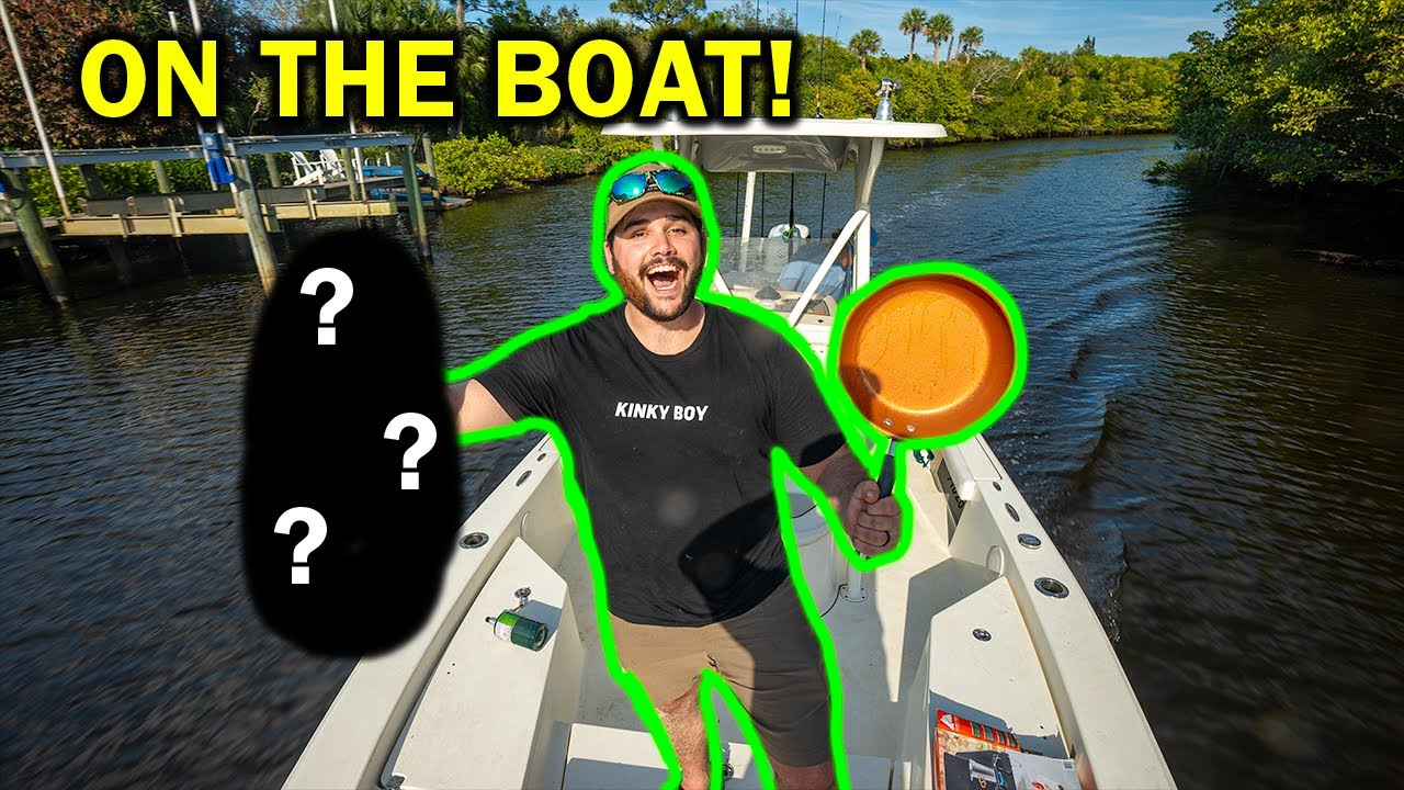EPIC Saltwater CATCH CLEAN COOK on the BOAT!!! (Florida ep. 2)