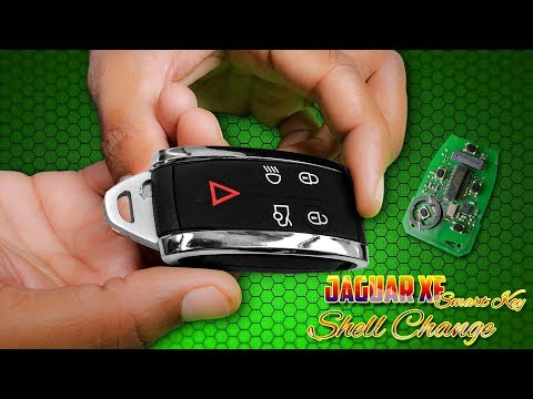 Jaguar XF Smart Key Shell Change