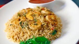 Shrimp Kabsa- كبسة الروبيان / الجمبري على طريقة سمر