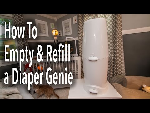 Fastest Way To Empty A Diaper Genie: How To Empty and Refill