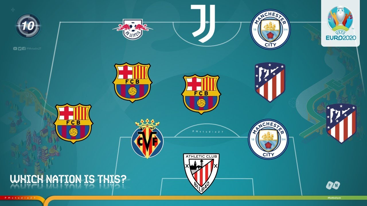 GUESS NATION BY ITS LINE-UP | Euro 2020 | PM