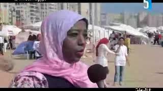تلفزيون الاسكندرية برنامج على الرملة يستضيف الصحفية السكندرية عبير صادق
