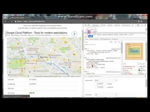 Change Geolocation Chrome - Hide your browser location 2018