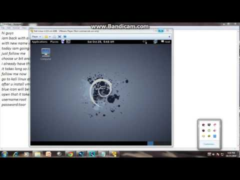 how to install kali linux on windows 7 with vmware (2017) very easy