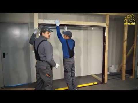 Side Hinged Garage Door installation