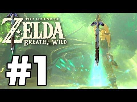 We Got The MASTER SWORD! - The Legend Of Zelda: Breath Of The Wild - Gameplay Part 1 (Switch)