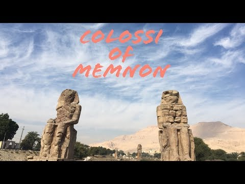 Colossi of Memnon - what to visit in Luxor - LUXOR  Attractions