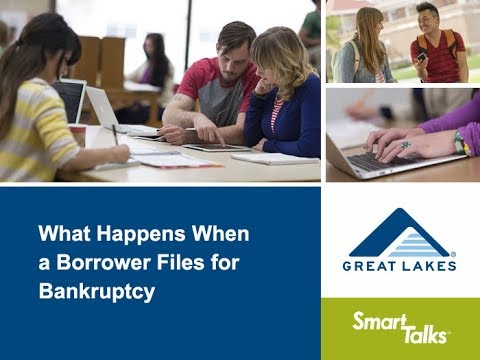 What Happens When a Borrower Files for Bankruptcy