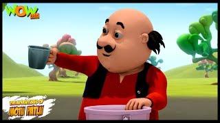 Motu Patlu Cartoons In Hindi    Animated cartoon   Pani ka darr   Wow Kidz