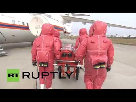 Russia: See EMERCOM train German medics on Ebola management