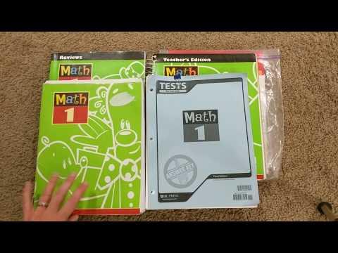 Homeschool Curriculum by Subject: 1st Grade Math