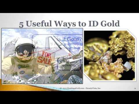 5 Ways To Identify Gold