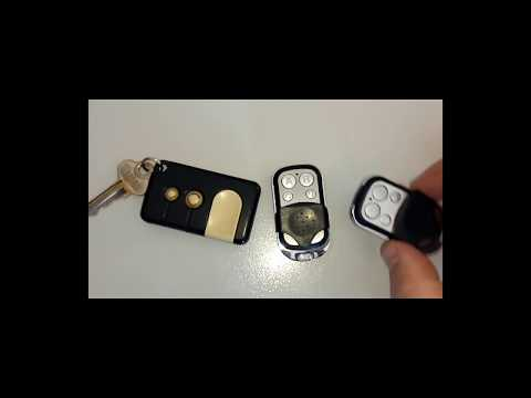 Garage Door Opener - Universal Remote - Easy How to Program