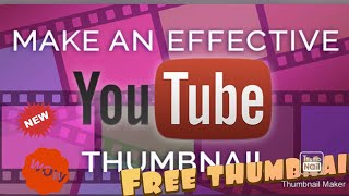 How to make an awsm thumbnail for YouTube 😎🤩🤩. Easy to use use and very attrective