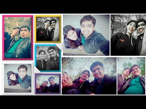#03 How to Make Photo Collage in Mobile/Smartphone Apps [Hindi]