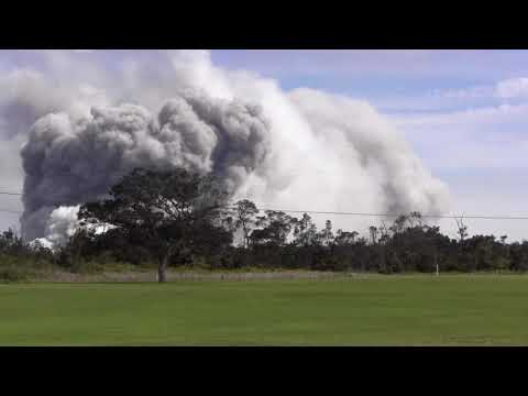 Halema'uma'u Eruption