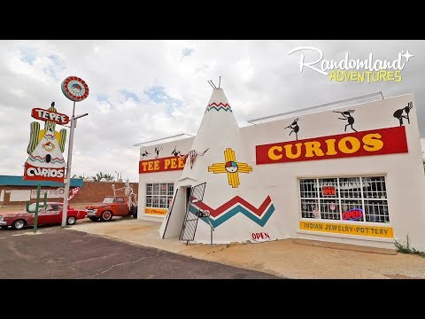 Abandoned Buildings, Epic Neon Signage, and weird History on Route 66 inTucumcari  New Mexico