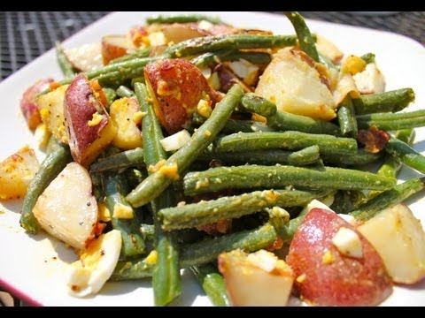 Roasted Green Bean and Potato Salad Recipe