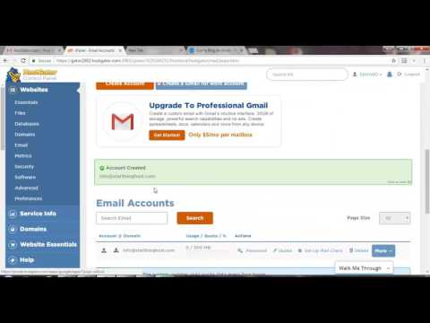 How to Create Free Custom Email Address in C Panel