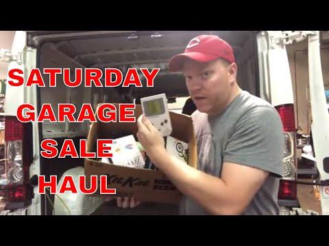Saturday Garage Sale Haul-Video Games, LEGOs & A Lot More!