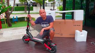 Unboxing The ZERO 10X Two Wheel Drive E Scooter