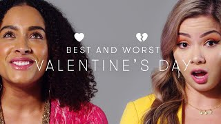 People Describe Their Best & Worst Valentine's Day   Keep it 100   Cut
