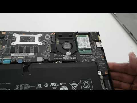 SSD Upgrade in Lenovo Yoga 2 Pro