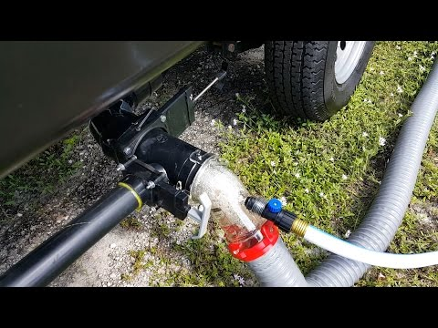 How to Empty the Black & Grey Tanks in an RV/Camper