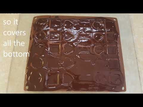 Chocolate pralines home made