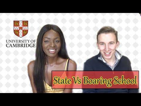 Cambridge Students Compare State and Boarding school | Seb Johns
