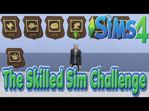 Completing Collections : Episode 14 : Sims 4 : The Skilled Sims Challenge