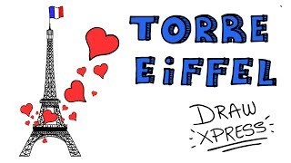 LA TORRE EIFFEL | DrawXpress