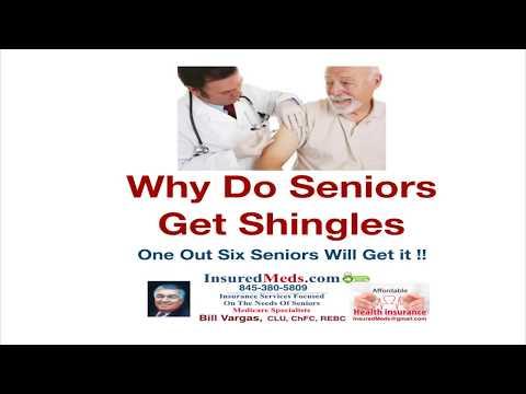 Why Do Seniors Get Shingles